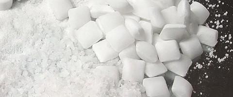 Salttabletter Och Industrisalt